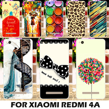 Akabeila Paintbox Chocolate Candies Cover For Xiaomi Redmi 4A Redmi4A Red Rice 4A 5.0Inch Mobile Phone Case Durable