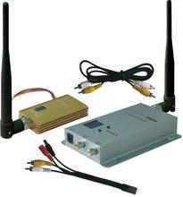 FPVOK Video Sender 0.9Ghz 1500mW FPV System Video Transmitter and Receiver Wireless AV Link CCTV 0.9Ghz Tx Rx set
