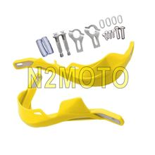 Motorcycles MX Motocross Dual Sport Yellow 22mm Handguard 7/8 Inch Hand Guards for Suzuki GSXR 1000 DRZ RM Scooter Off Road Bike