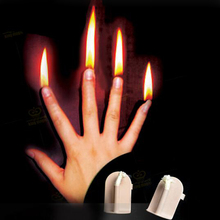 1 set Finger Fire Magic Stage Magic Tricks Magician Gimmicks Close Up Stage Magic props illusions,Accessories 81369