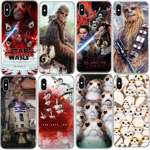 Buy Phone Case Star Wars Last Jedi Porgs Hard Cover iPhone 5 5S SE 6 6S Plus 7 7Plus 8 8 Plus R2-D2 Case iPhone X 10 for $1.19 in AliExpress store