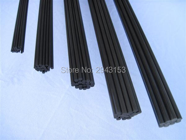 6-10pcs 5.5*1000mm 12K pultrusion matt DIY Carbon fiber extrusion rod bar for RC Model Tial Aircraft Shaft Kite<br>