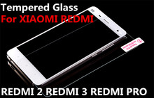 Tempered Glass For XIAOMI REDMI 2 3 PRO Screen protect Film Transparent Armor mobile phone smartphone accessories discount