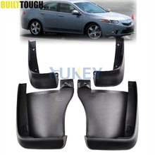 Mud Flaps For Honda Accord Euro 08-2012 Acura TSX 2009-2014 Mudflaps Splash Guards Front Rear Mud Flap Mudguards 2010 2011 2013