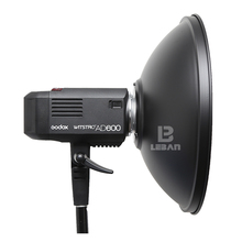 Godox AD-H4 42cm 16.5 Inch Speedlite Flash Beauty Dish Reflector for Godox Witstro AD600 AD600M (Don't include the Grid)