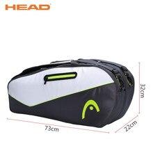 c74d42121a8 HEAD Racket Sport Bags For 9 Pieces Badminton Racket Brand Portable PU  Shoes Bag Raquete De Tenis Backup Quality Tennis Backpack