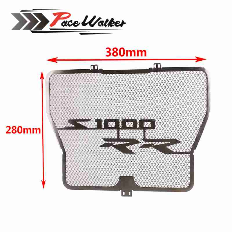 FREE SHIPPING Radiator Protective Cover Grill Guard Grille Protector For BMW S1000RR 2009 2010 2011 2012 2013 2014 2015 2016<br>