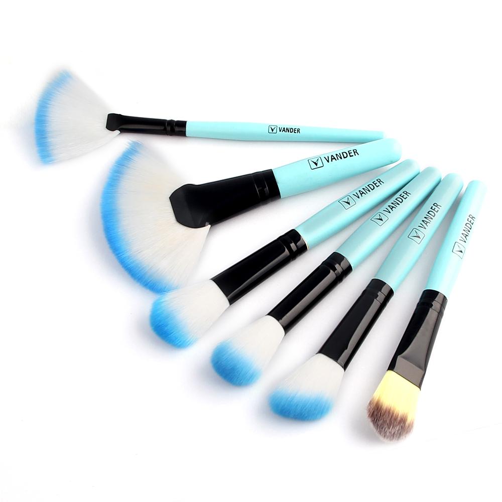VANDER 32Pcs Makeup Brushes Set Kit Cosmetic Brush Eyebrow Foundation Shadows Eyeliner Lip Make Up Tools with Pouch Bag (31)