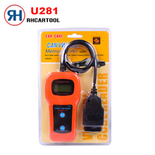 2017 hot sale new Car Styling U281 for VW AUDI SEAT ABS Airbag Engine Reset Code Reader CAN BUS OBD2 Scanner Tool Free Shipping