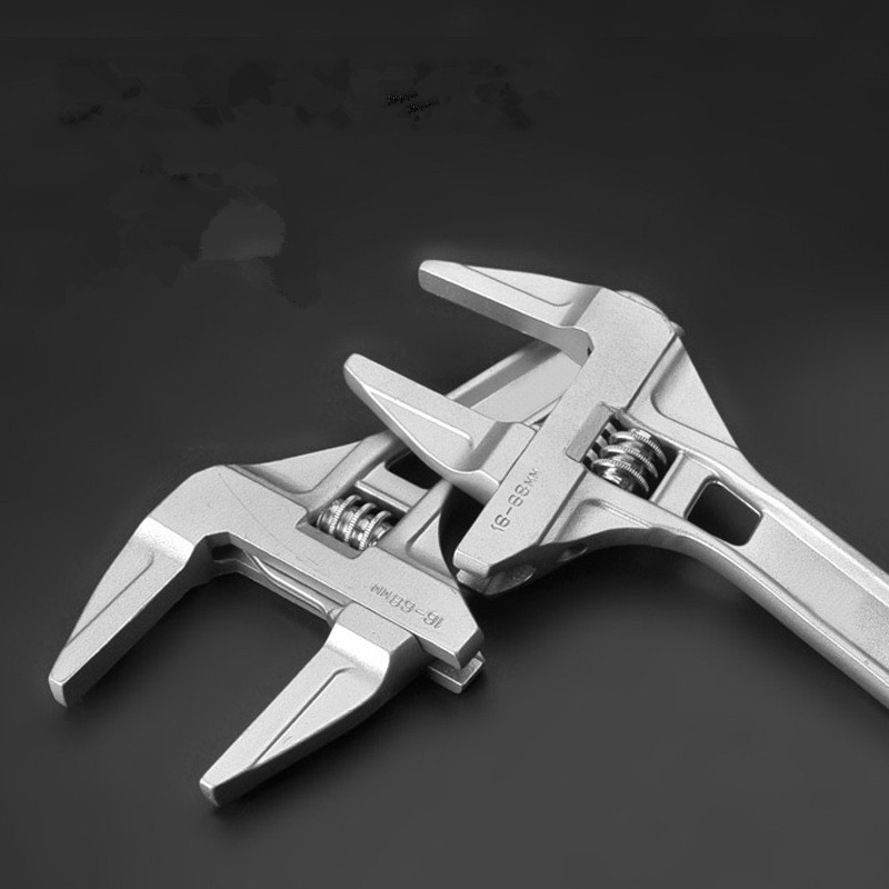 Mini Small Adjustable Spanner Adjustable Spanner Adjustable Wrench Short Shank Large Openings Ultra-Thin Wrench<br><br>Aliexpress