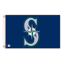 S Design Seattle Mariners Flag Banner World Series Champions Baseball Cub Fan Team Flags 3x5 Ft 90x150cm Banners Decoration