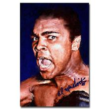 "Muhammad Ali-Haj Boxing Boxer Champion Art Silk Fabric Poster Print 12x18 24x36"" Sports Pictures For Bedroom Decor 002"