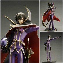 24.5cm Anime Code Geass R2 Lelouch Lamperouge Zero 1/8 PVC Action Figure Collection Model Toy