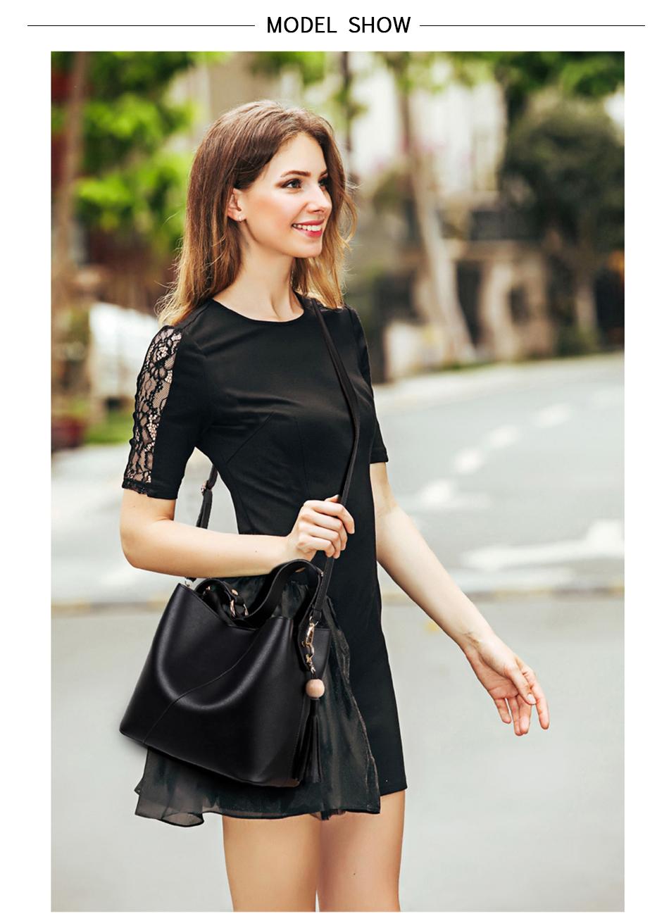 Leather Bag Luxury PU Women Shoulder Bags Handbag Brand Designer Bags New 17 Fashion Ladies Hand Bag Women's Bolsa Feminina 5