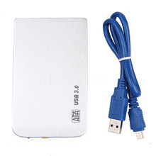 Ultrathin Aluminium 2.5 Inch USB 3.0 HDD Case Hard Drive Disk External Storage Case HDD Enclosure 2.5''