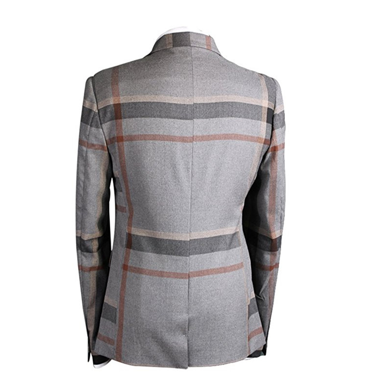 HTB1nybbSFXXXXaAXVXXq6xXFXXXR - YFFUSHI Men Suit With Pants 2 Pieces Classic Grey Navy Plaid Tuxedo Business Casual Grooms Wedding Suits for Men Plus 6XL
