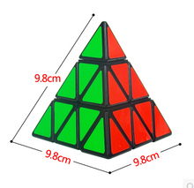 2016 New Magic cube triangle pyramid shaped magic cube educational toys freeshipping