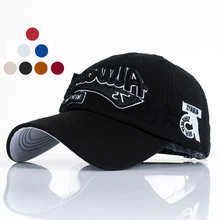 Fashion 8 Colors Cotton Letter Embroidery Unisex Lovers Casual Popular Baseball Caps Clothing Accessories(China)