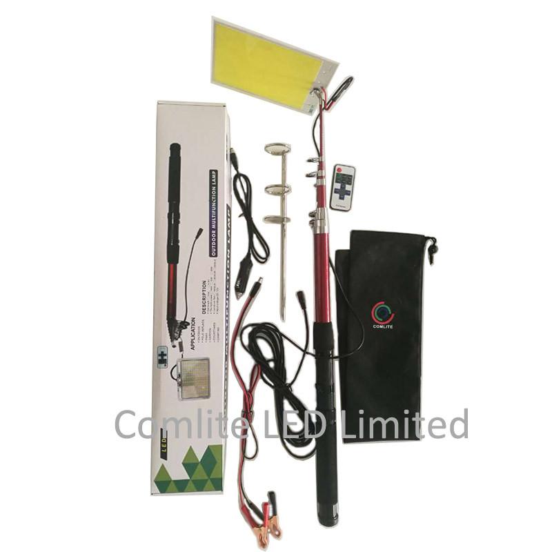 cob led fishing rod light 1