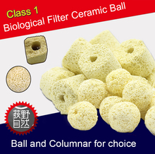 500g Yellow Bio Ceramic Ball Bio Ceramic Ring for Filter cultivate Nitrifying Bacteria
