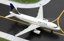 GJUAL1389 GeminiJets United Airlines 1:400 A319 commercial jetliners plane model hobby