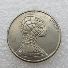 Type:#07 Hobo Nickel 1937-D 3-Legged Buffalo Nickel Rare Creative skull Spider-Man Copy Coin High Quality(China)