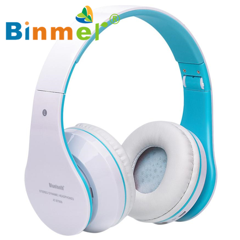 Foldable Wireless Bluetooth Stereo Headset Hands-free Headphone Mic TF Card_KXL0630