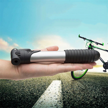 Bicycle Pump Mini Portable Light Aluminum Alloy Bike Basketball ball Pump Bicycle Air Pump Mountain Bike Cycling Tire Inflator