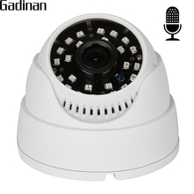 GADINAN Built-in Audio IP Camera 1080P 2MP SONY IMX322 Sensor Indoor Dome Surveillance Video Camera IP 24PCS Laser LED ONVIF(China)