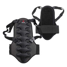 Exercise Protect Removable Back Vest Protection Ski Body Armor Backpiece Back Protector Body Spine Armor 1 Pcs(China)