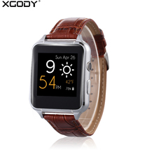 XGODY X7 SIM Card Smart Watch Men Sports Activity Fitness Tracker Wrist Watch Cell Phone Bluetooth Smartwatch for Android IOS(China)
