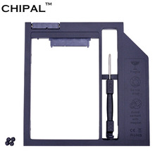 "CHIPAL High Quality Plastic SATA 3.0 2nd HDD Caddy 9.5mm for 2.5"" SSD Case Hard Disk Enclosure for Notebook CD-ROM Optical Bay(China)"