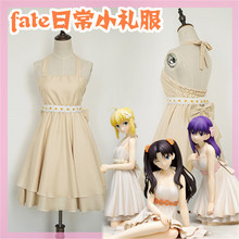 Fate/Grand Order Gothic Dress  Night Party Evening dress Cosplay  Black Gray Costumes O