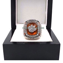 Newest Hot Sale 2016 Clemson Tigers Orange Bowl Championship Rings, Drop Shipping Sports Ring For Fans(China)