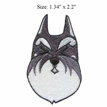 "Grey cat  2.2""high embroidery patch  for sons of anarchy patch/tennis accessories/ favorite cartoon character"