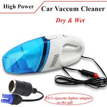 2017 New 12V Portable Car Vacuum Cleaner Wet and Dry 60W Mini Car Vaccum Cleaner For All Car-Stlying Diesel Petrol Free Ship(China)