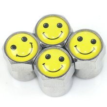 4Pcs/set Universal Car Tyre Air Valve Caps Bicycle Tire Valve Cap Car Wheel Styling(China)