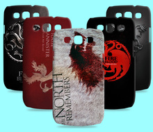 Ice and Fire Cover Relief Shell For Samsung GALAXY CORE Prime G3608 Cool Game of Thrones Phone Cases For Galaxy S3 I9300