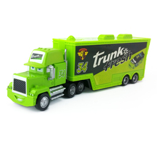 Disney Pixar Cars Mack Uncle No.34 Trunk Fresh Truck Diecast Toy Car Loose 1:55 Brand New In Stock & Free Shipping(China)