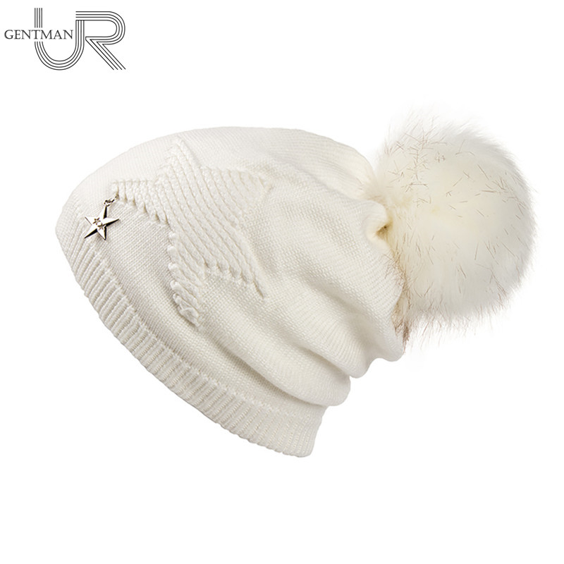 New True Letter Winter Hat Long Size Knitted Cap High Quality Casual ...