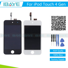 White Black For Apple iPod touch 4 LCD Display & Digitizer Touch Screen Assembly