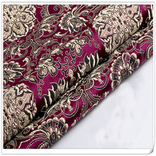Brocade Fabric Damask Jacquard America style Apparel Costume Upholstery Furnishing Curtain DIY Clothing Material by meter(China)