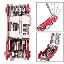Portable Steel Multifunction Bicycle Tool Maintenance Bike Repair Tools Screwdriver Wrench 11 In 1 Kit MTB Cycling Bike Tools(China)