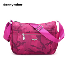 2017 Casual Women Handbag Nylon Waterproof Handbag Travel Bags Student School Bag Girl Shoulder Messenger Bag Bolsas Cheap(China)