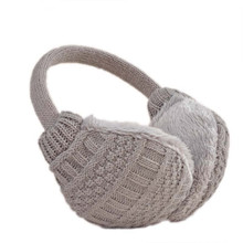 Women Warm Earmuff Solid Knitted Thermal Earmuff Unisex Earmuffs Lovers Plush Ear Muffs Winter Warm Washable Knitted Earmuff