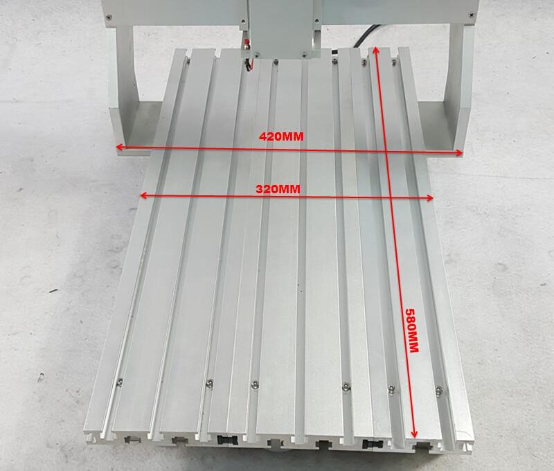 DIY mini cnc frame 3040 (5)