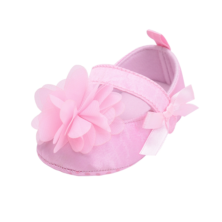 Flower Spring / Autumn Infant Baby Shoes Moccasins Newborn Girls Booties for Newborn 3 Color Available 0-18 Months 12