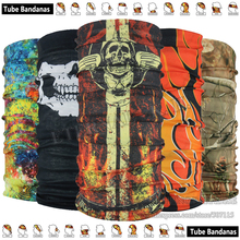 EXPRESS Shipping 500pcs Wholesale 2017 Latest Design Seamless Multifunction Headwear Outdoor Riding Bandana Neck Tube Scarf