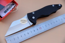 Jufule Made Yojimbo 2 C85 G10 handle S30V blade Folding camping hunting outdoor survive Knives multi EDC Tool kitchen knife