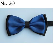 butterflies butterfly bowknot bow tie knot bowtie men's necktie neck ties polyester(China)